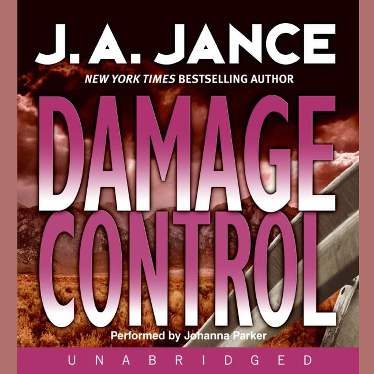 Printable Damage Control Audiobook Cover Art