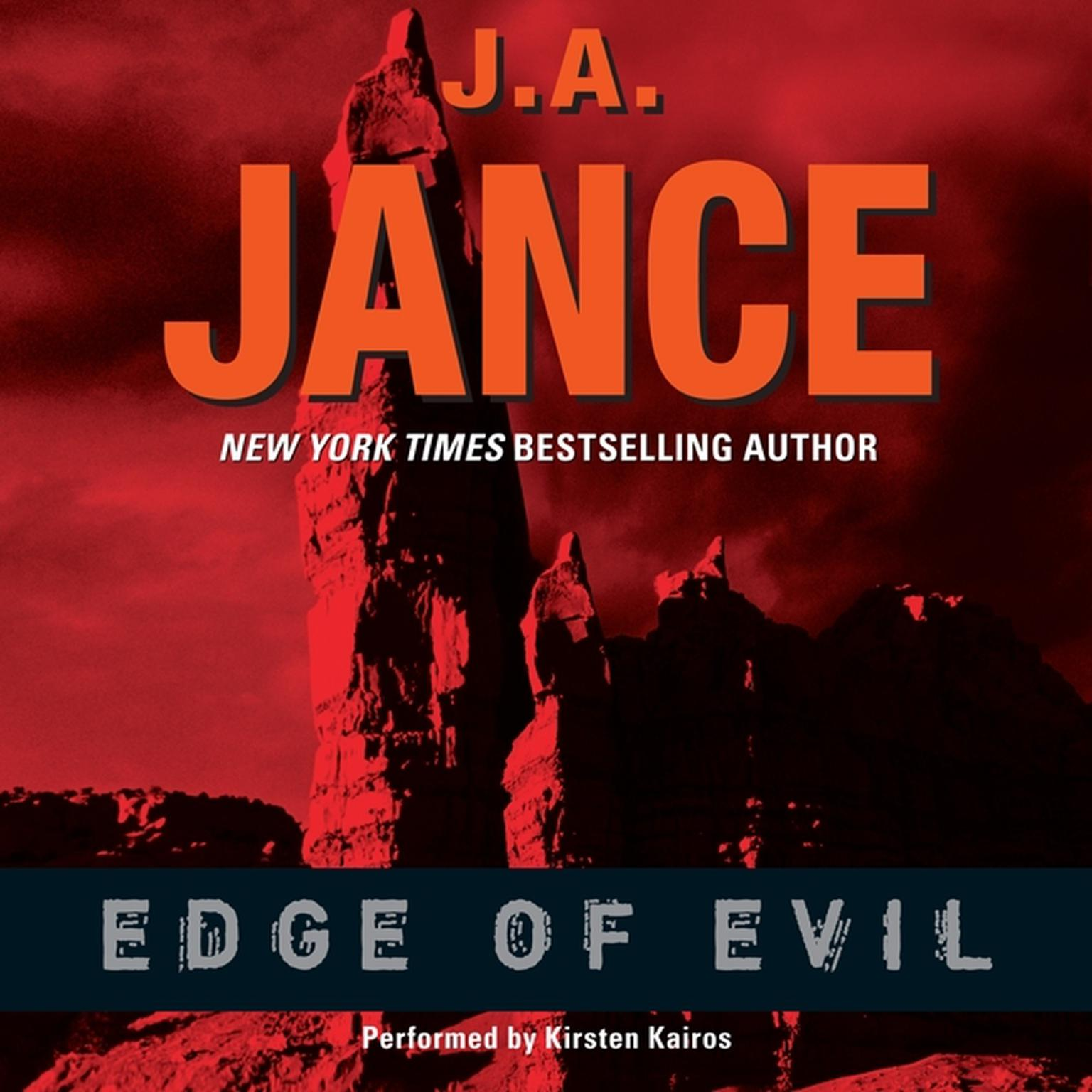 Printable Edge of Evil Audiobook Cover Art