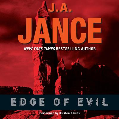 Edge of Evil Audiobook, by J. A. Jance