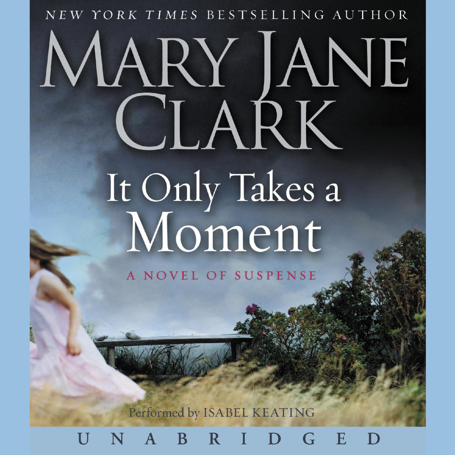 Printable It Only Takes a Moment Audiobook Cover Art