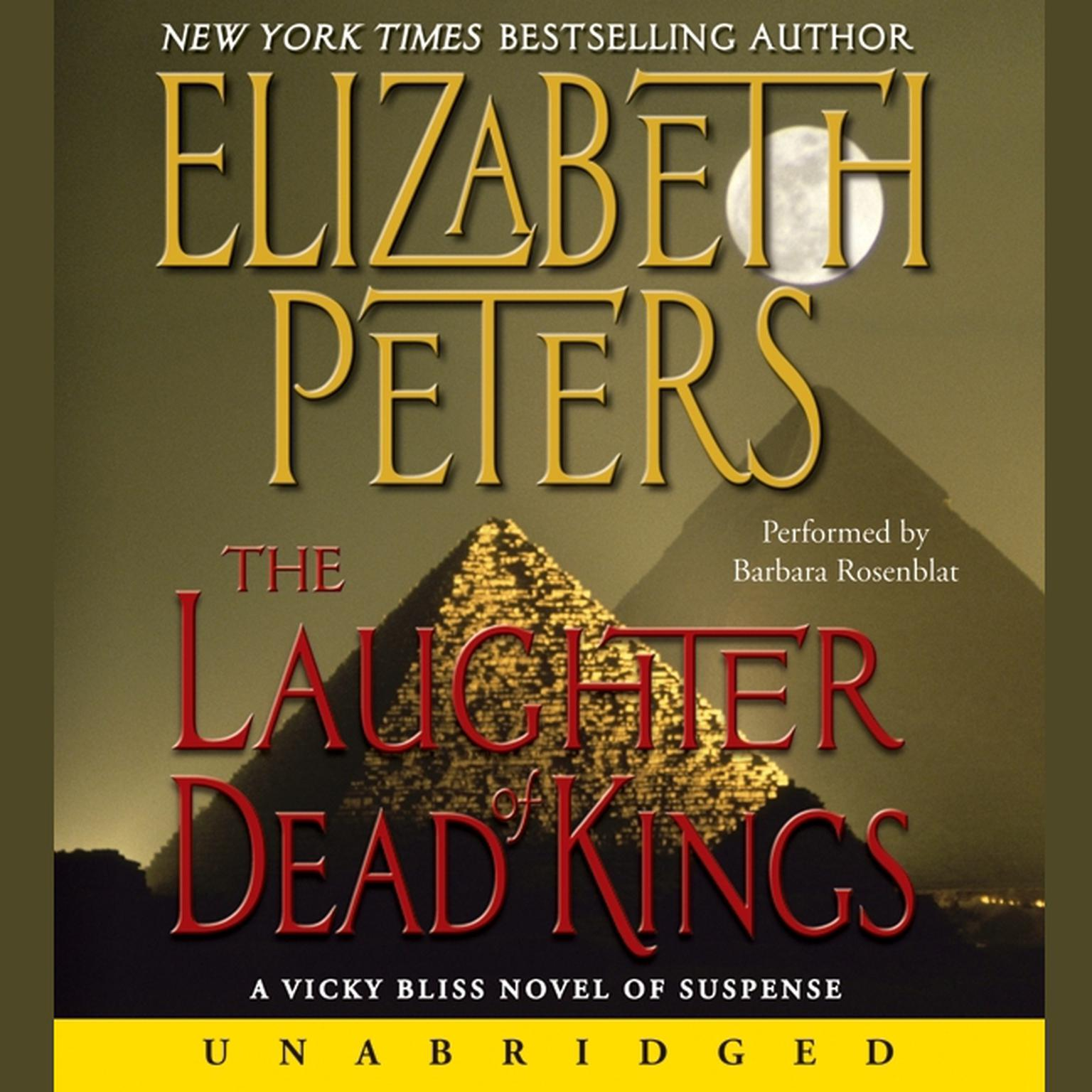 Printable The Laughter of Dead Kings Audiobook Cover Art