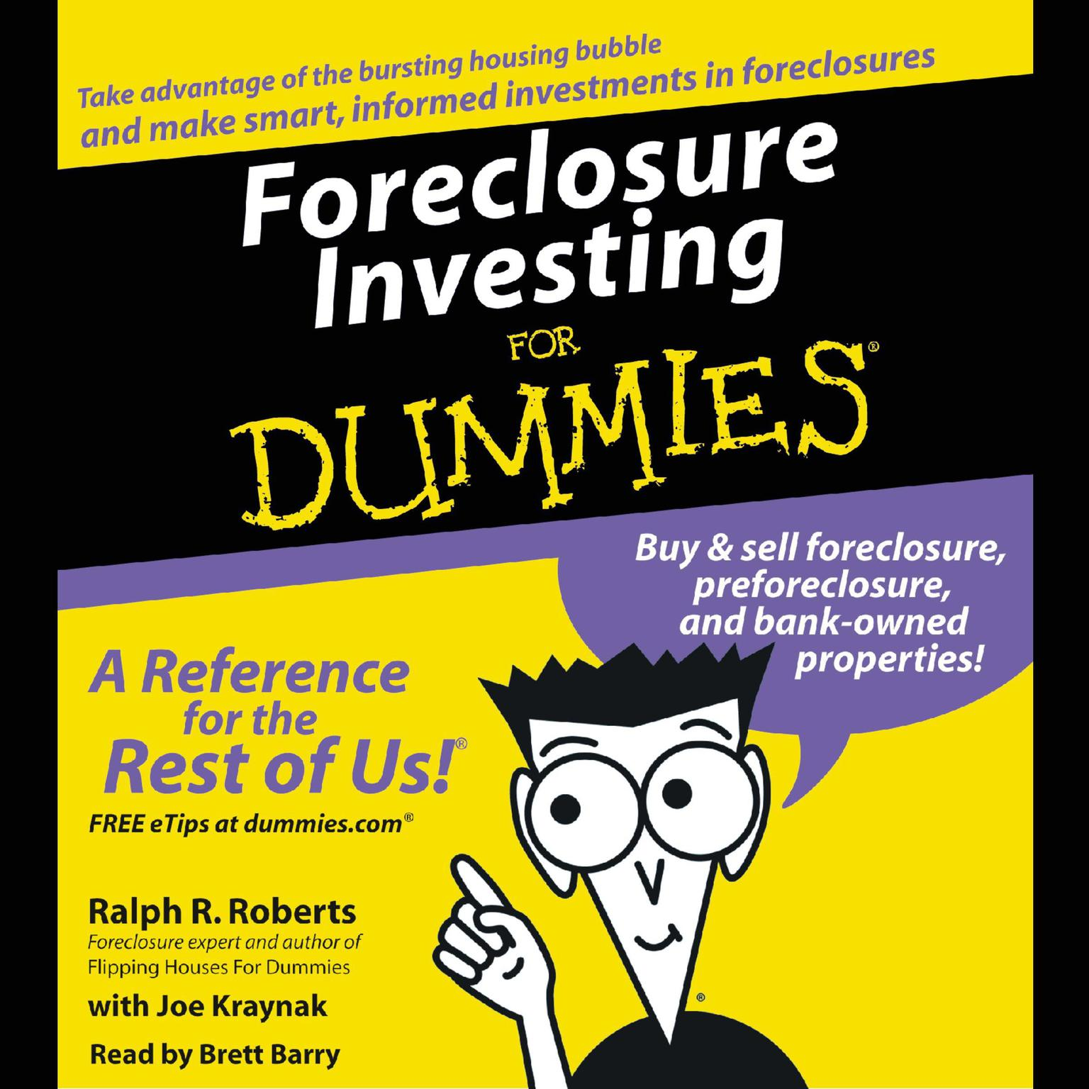 Printable Foreclosure Investing For Dummies Audiobook Cover Art