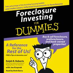 Foreclosure Investing for Dummies Audiobook, by Ralph R. Roberts, Eric Tyson, Joe Kraynak