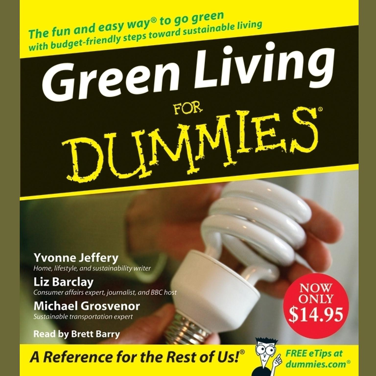 Printable Green Living for Dummies Audiobook Cover Art