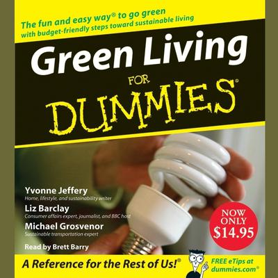 Green Living for Dummies Audiobook, by Yvonne Jeffery