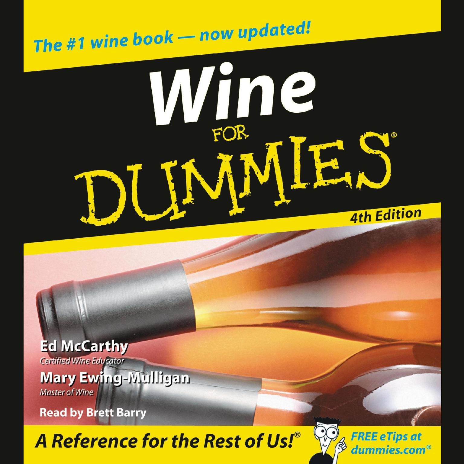 Printable Wine for Dummies, 4th Edition Audiobook Cover Art