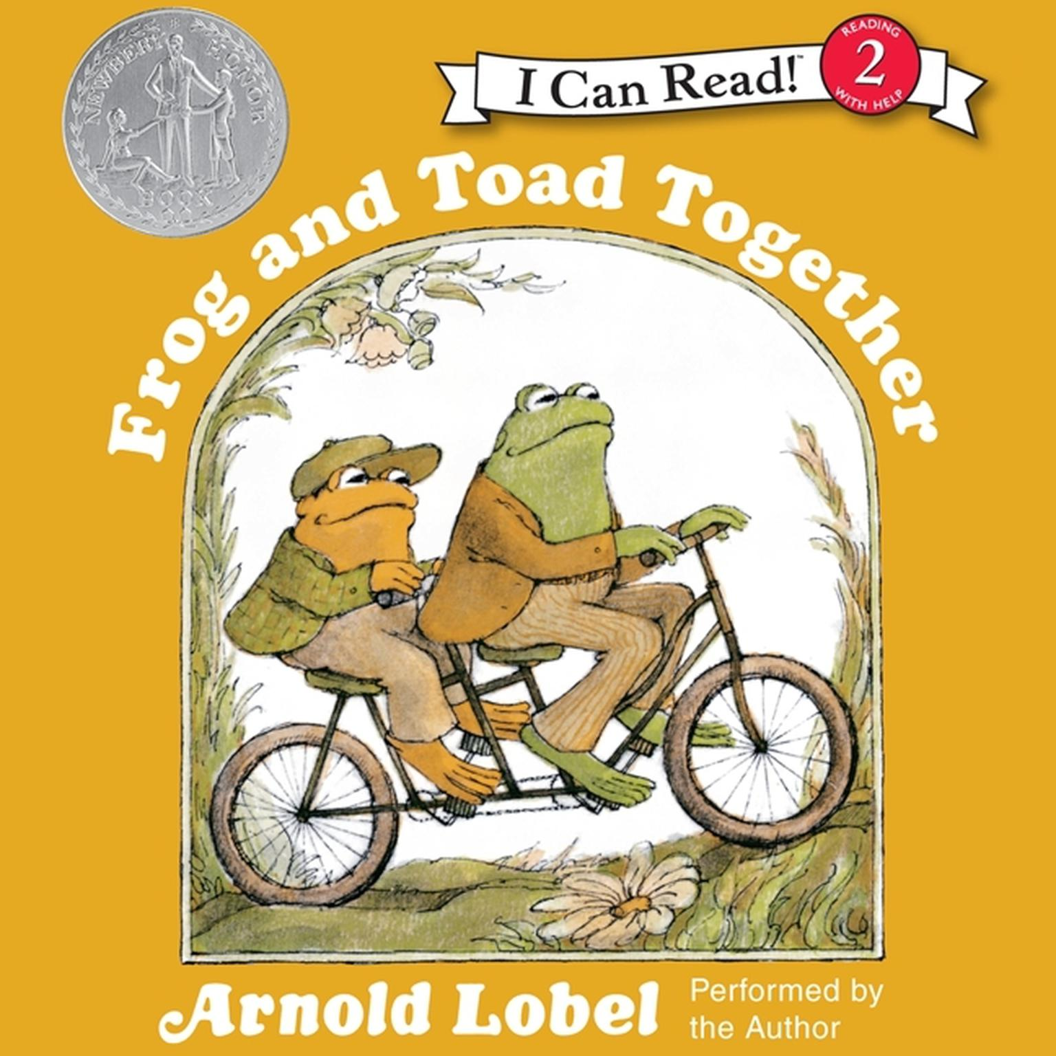 Printable Frog and Toad Together Audiobook Cover Art