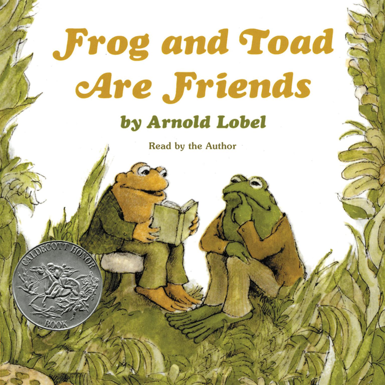 Printable Frog and Toad Are Friends Audiobook Cover Art