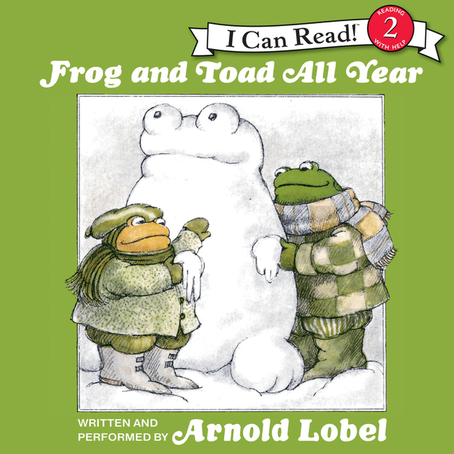 Printable Frog and Toad All Year Audiobook Cover Art
