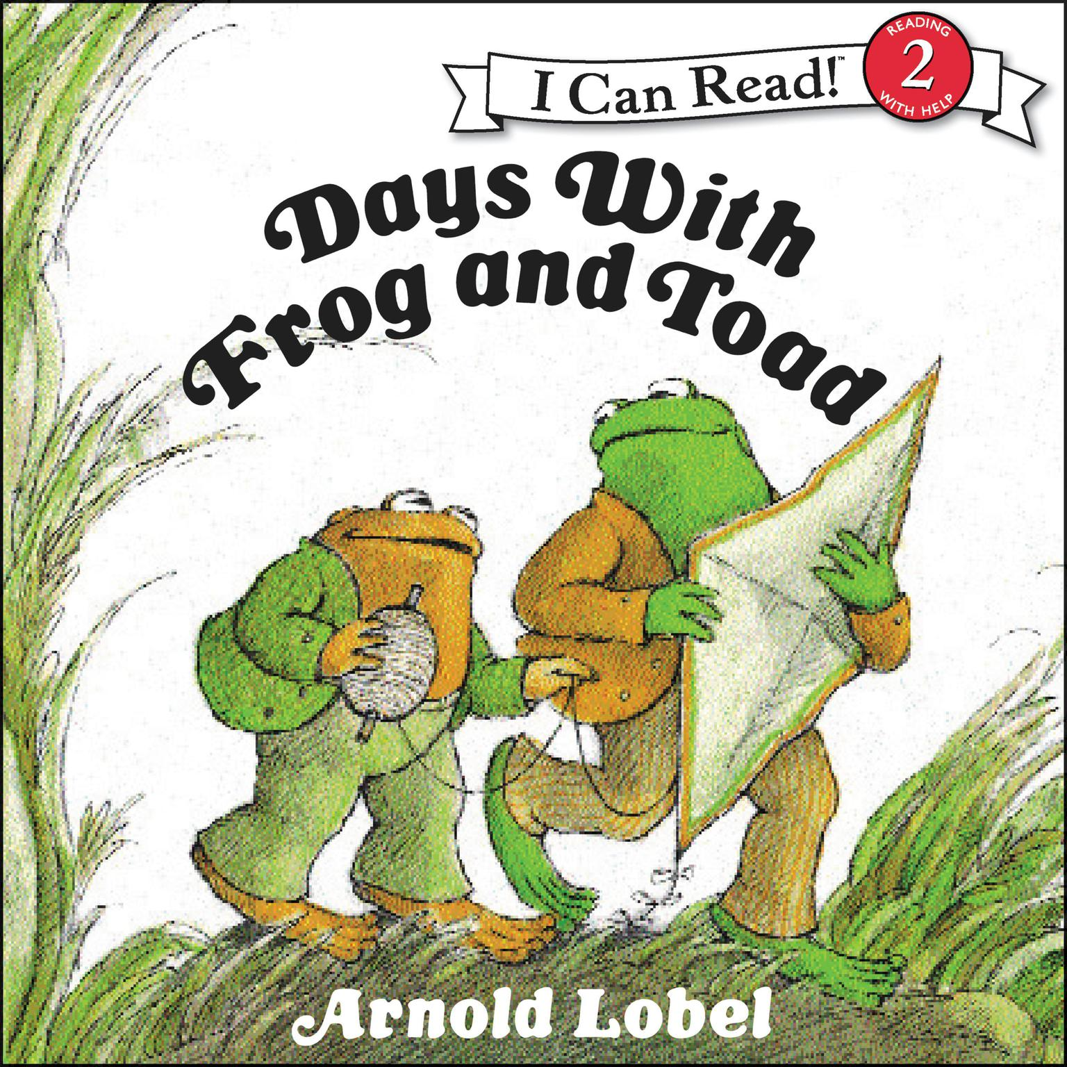 Printable Days With Frog and Toad Audiobook Cover Art