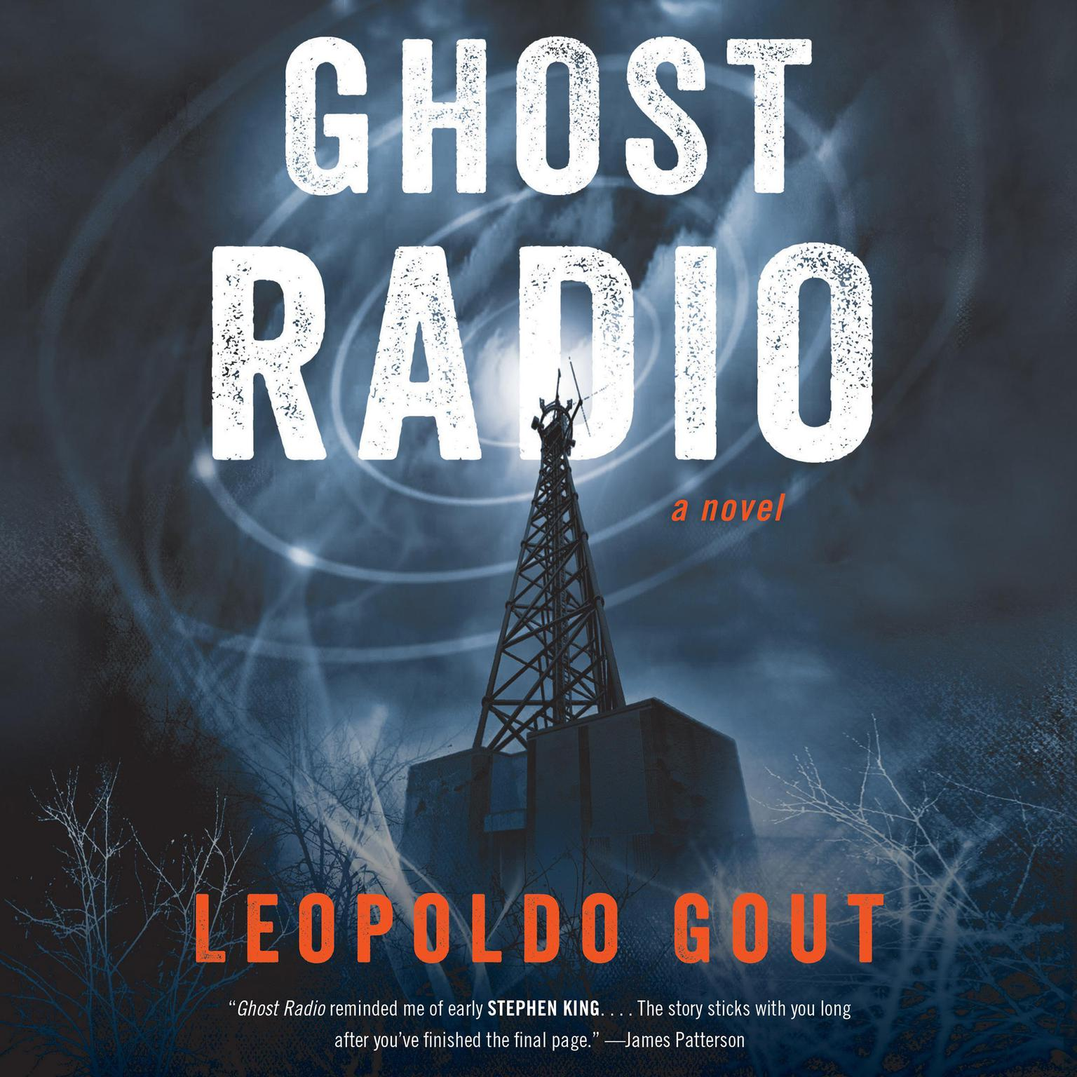 Printable Ghost Radio Audiobook Cover Art