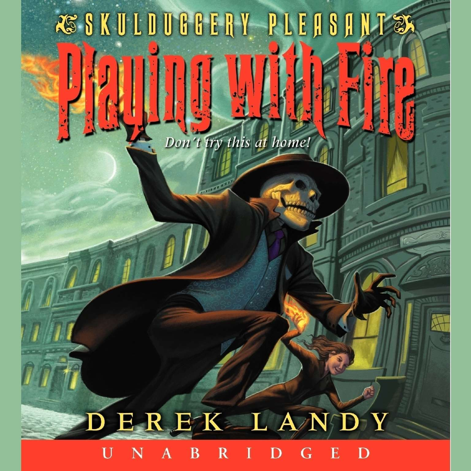 Printable Playing with Fire Audiobook Cover Art