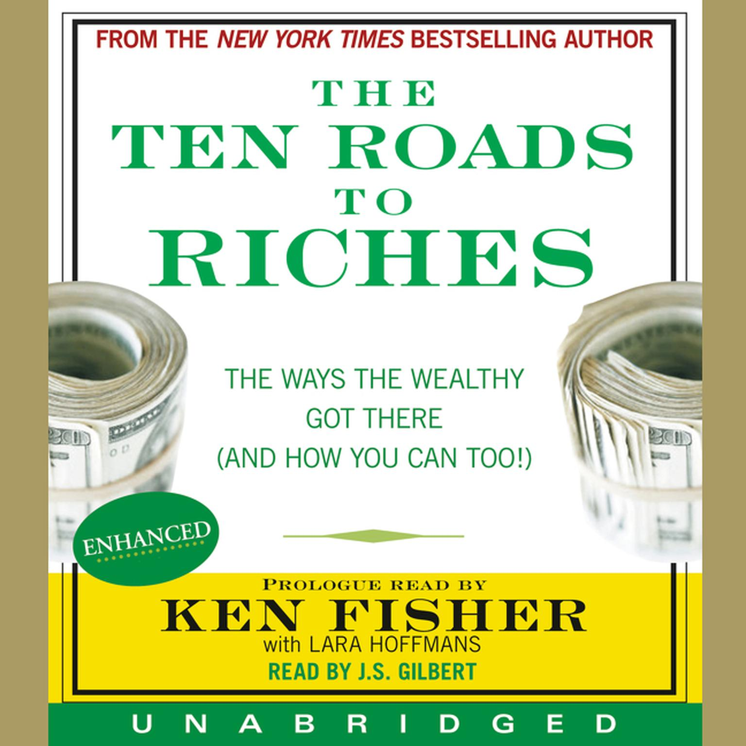 Printable The Ten Roads to Riches: The Way the Wealthy Got There (And How You Can Too!) Audiobook Cover Art