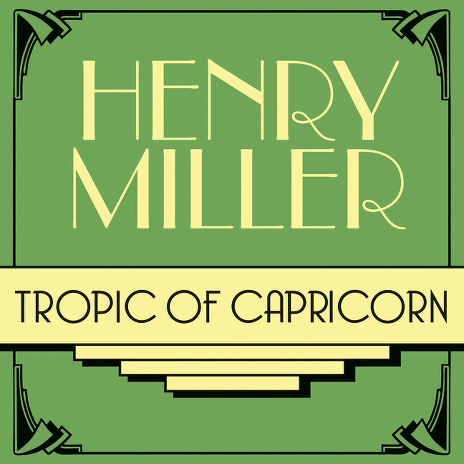 Printable Tropic of Capricorn Audiobook Cover Art