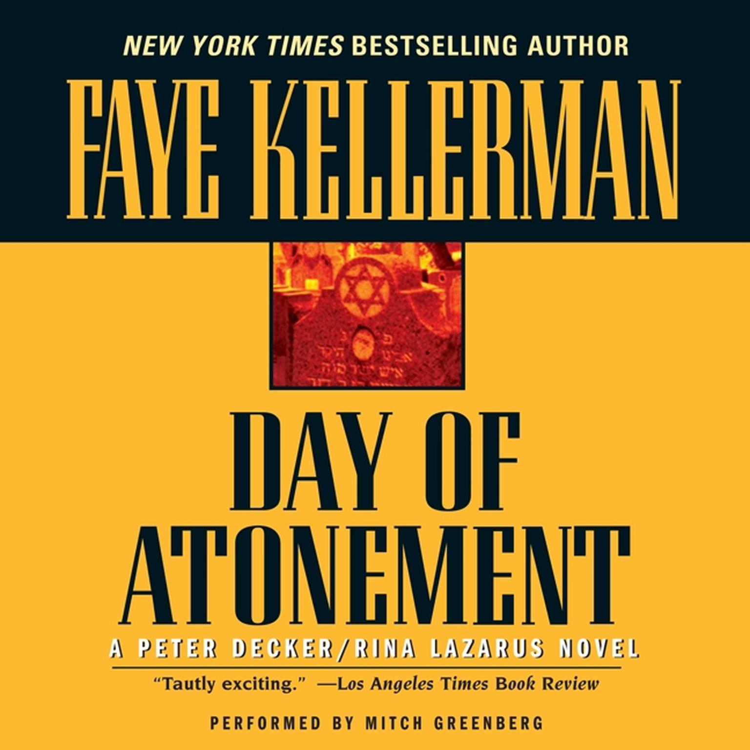 Printable Day of Atonement Audiobook Cover Art
