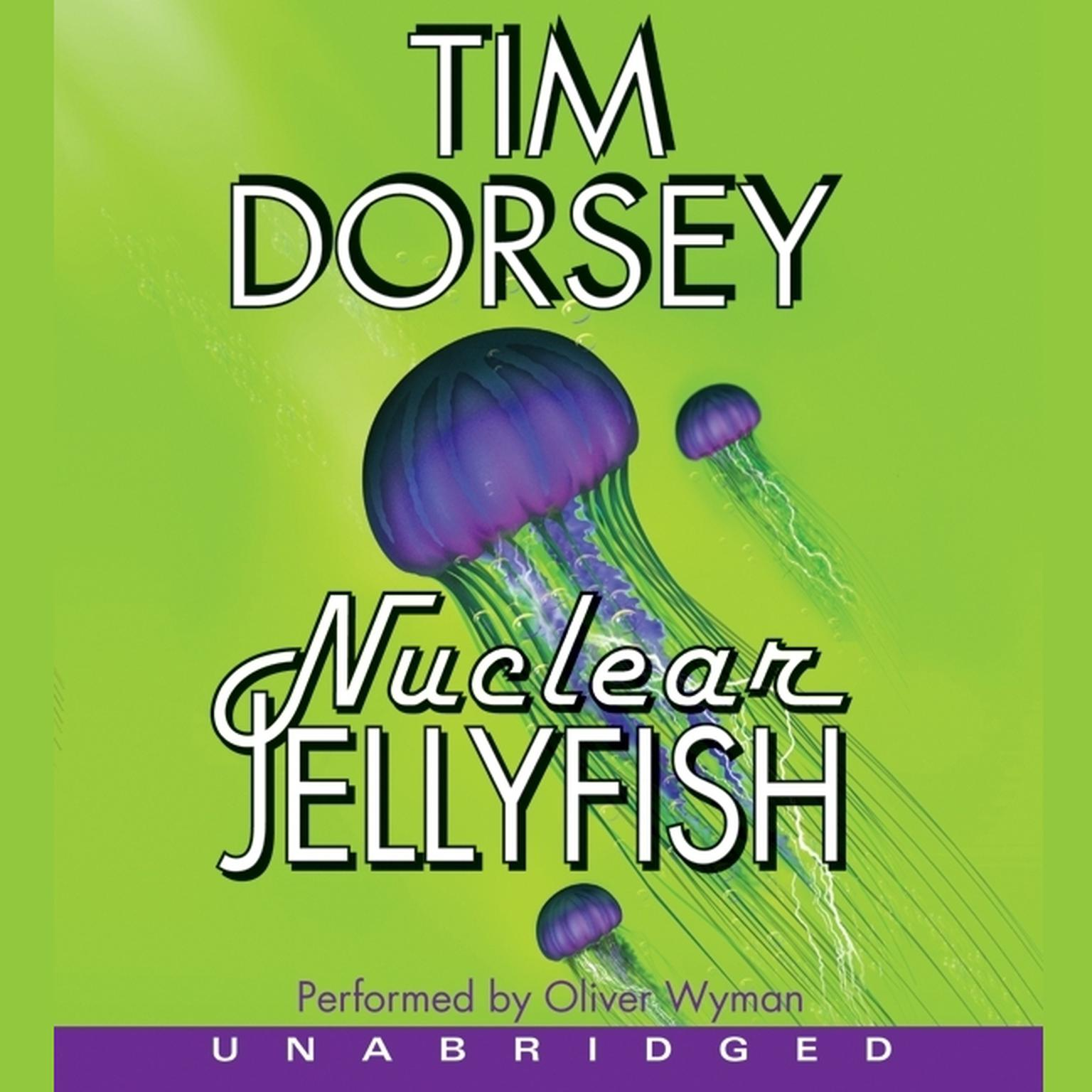 Printable Nuclear Jellyfish Audiobook Cover Art