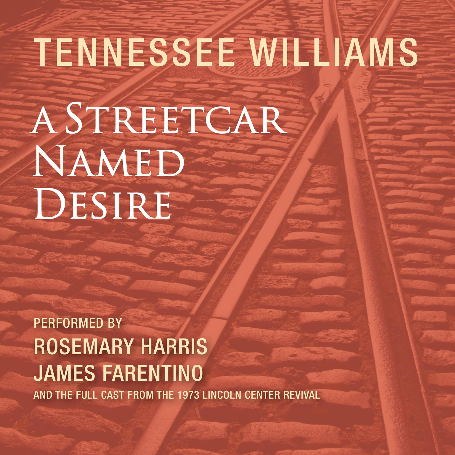 Printable A Streetcar Named Desire Audiobook Cover Art