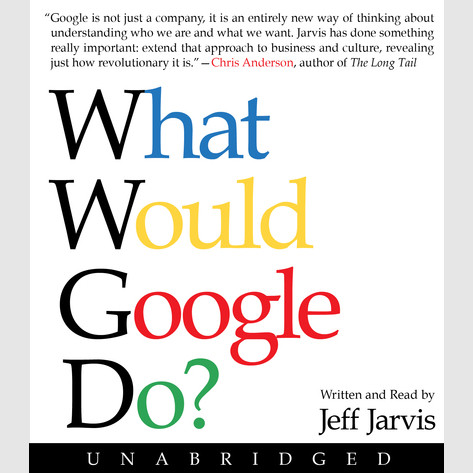 Printable What Would Google Do? Audiobook Cover Art