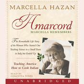 Amarcord: Marcella Remembers Audiobook, by Marcella Hazan