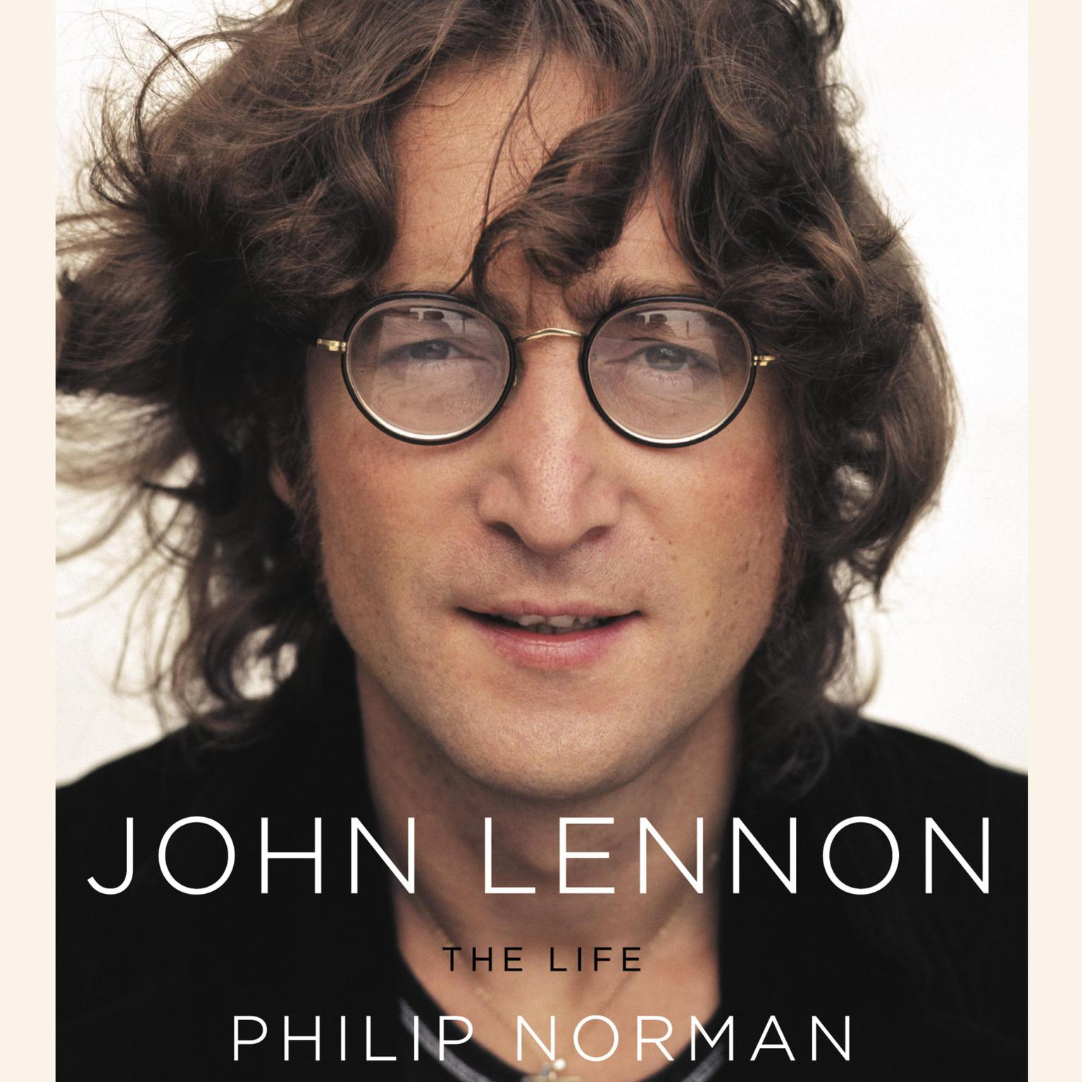 Printable John Lennon: The Life Audiobook Cover Art