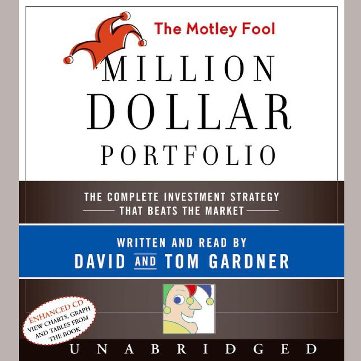 Printable The Motley Fool Million Dollar Portfolio Audiobook Cover Art
