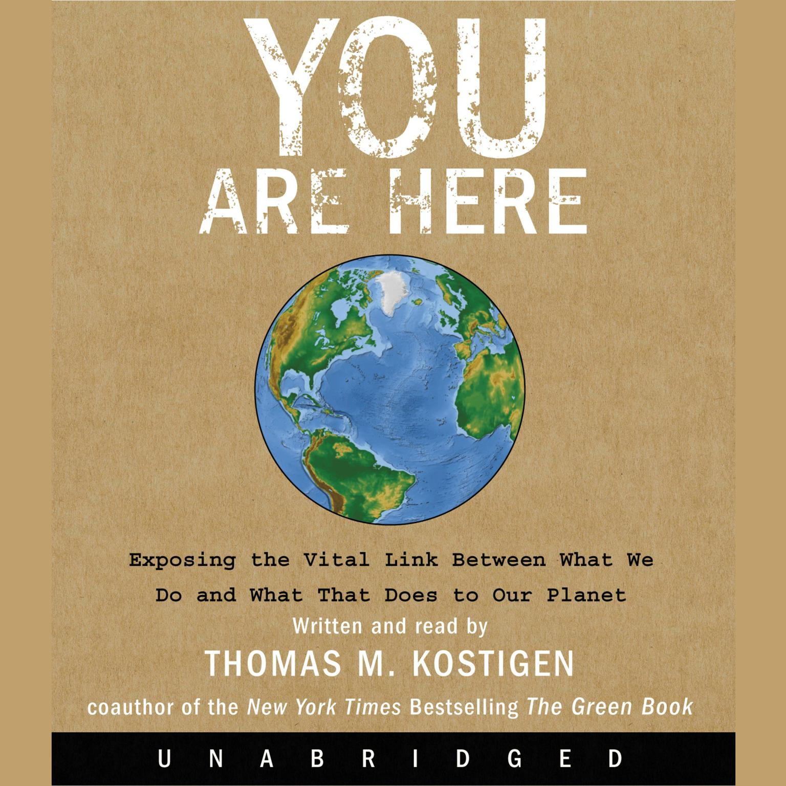 Printable You Are Here: Exposing the Vital Link Between What We Do and What That Does to Our Planet Audiobook Cover Art