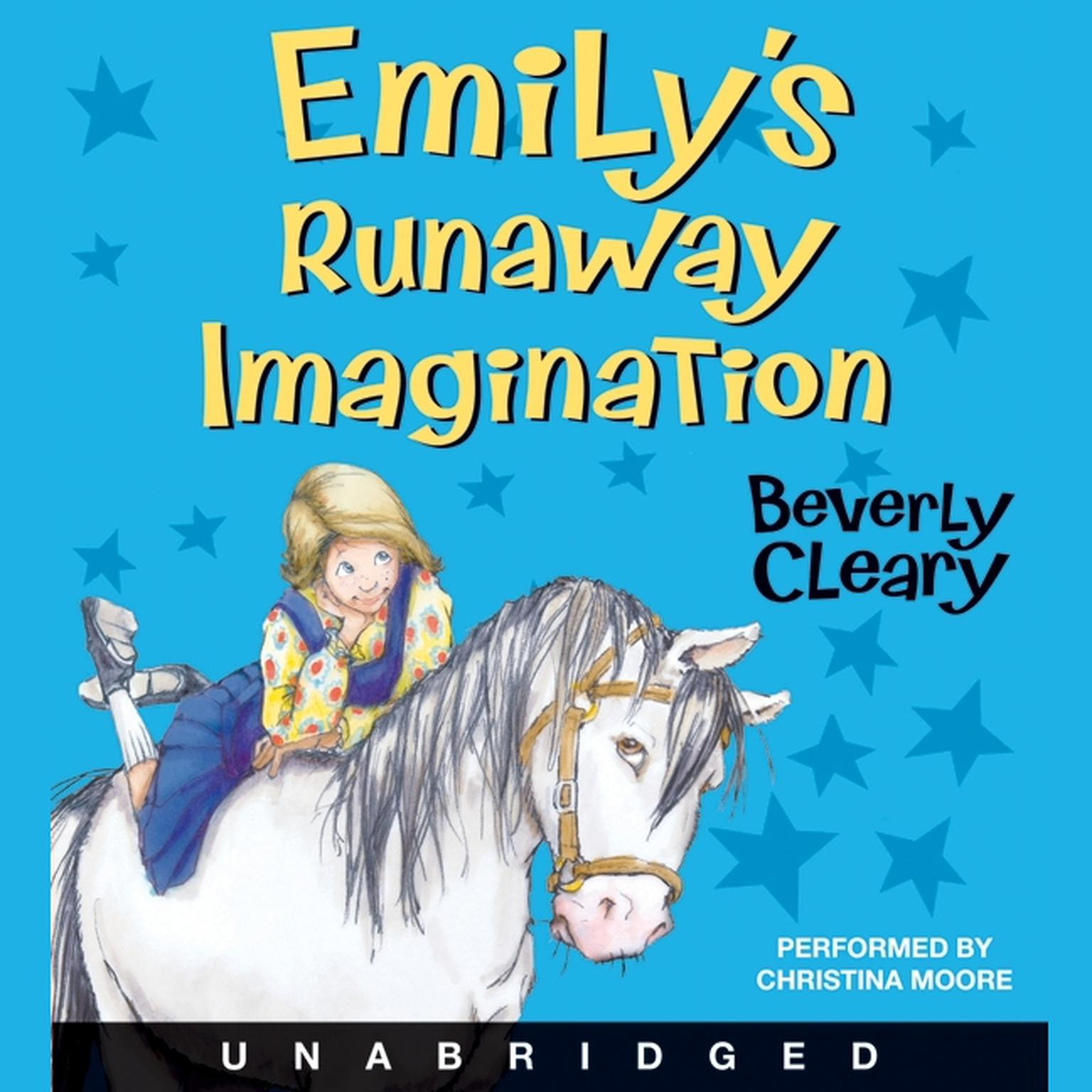 Printable Emily's Runaway Imagination Audiobook Cover Art