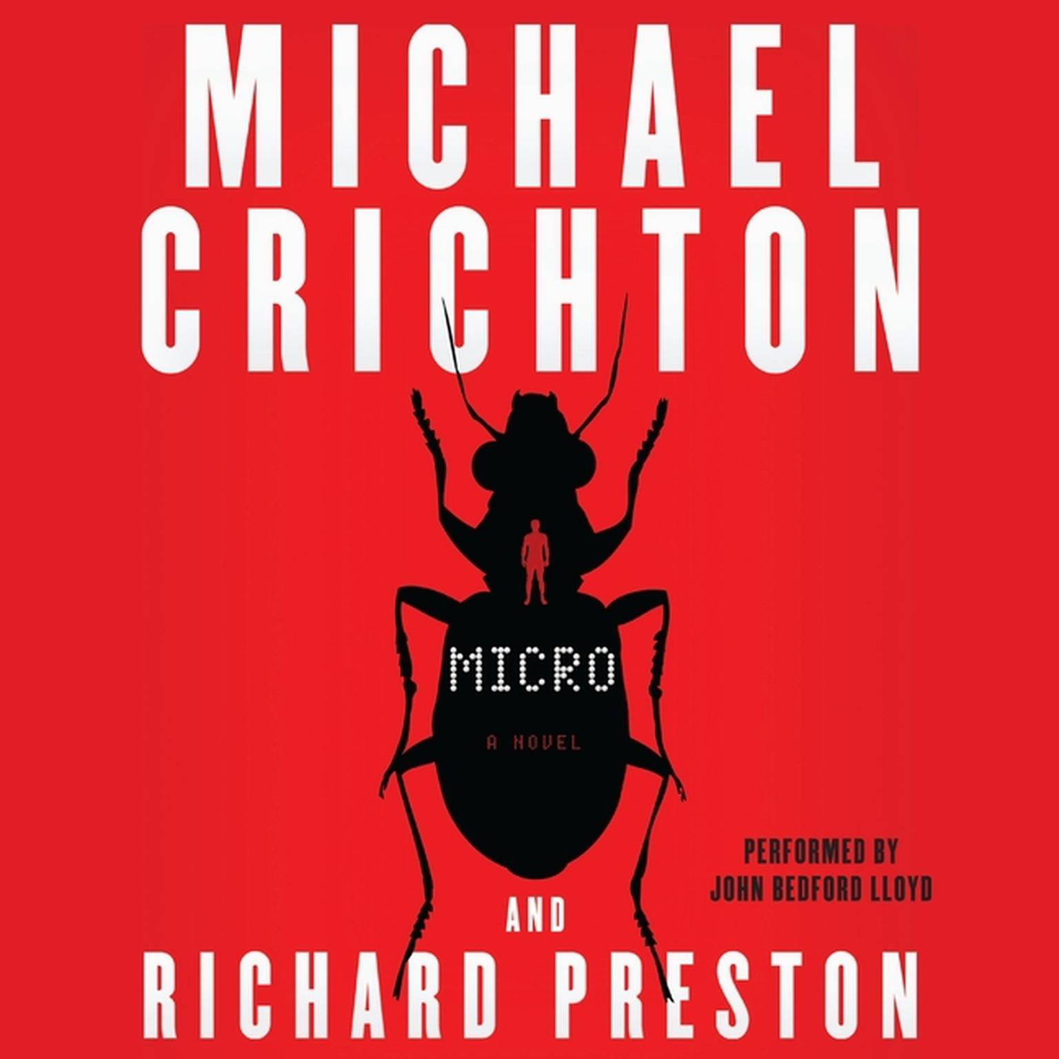 Printable Micro: A Novel Audiobook Cover Art