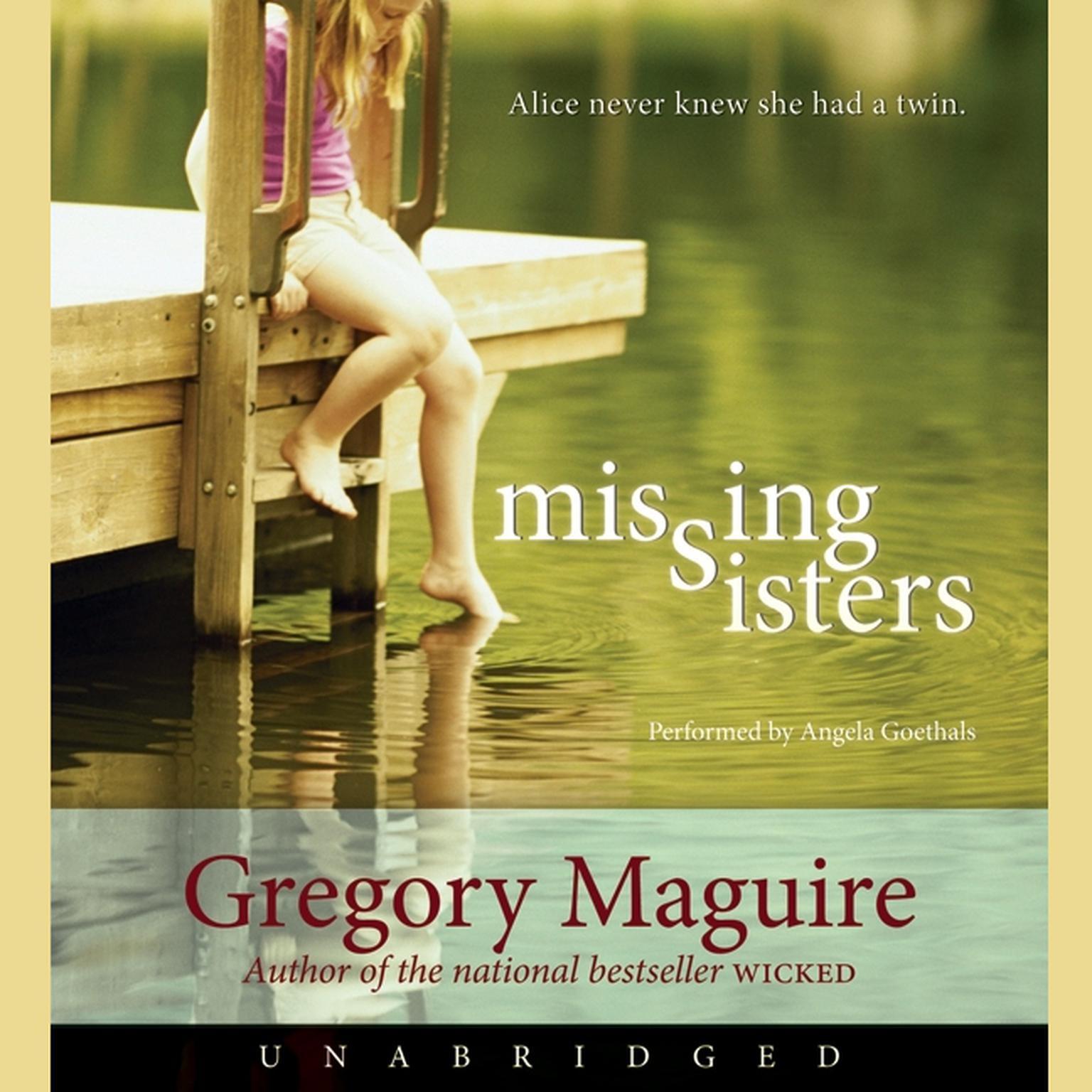 Printable Missing Sisters Audiobook Cover Art