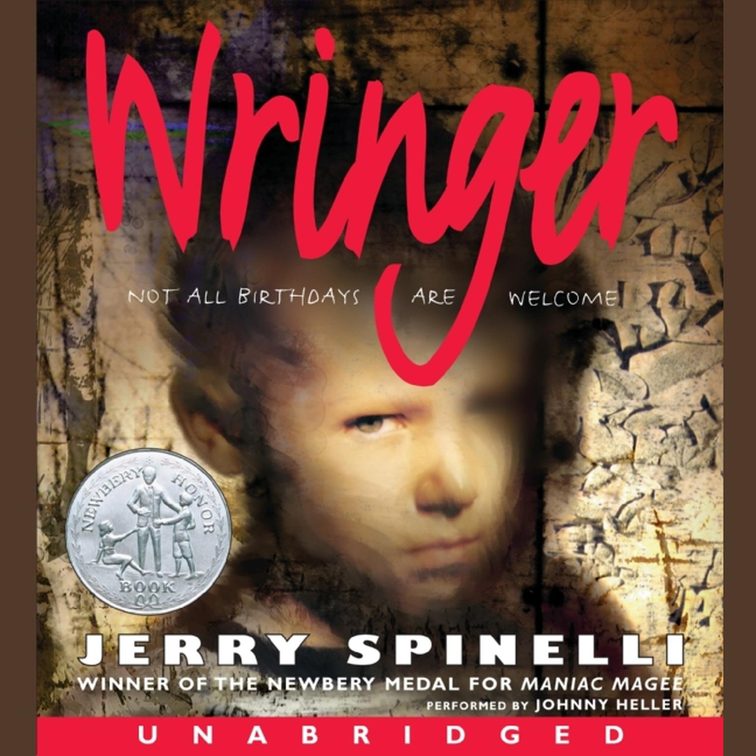 Printable Wringer Audiobook Cover Art