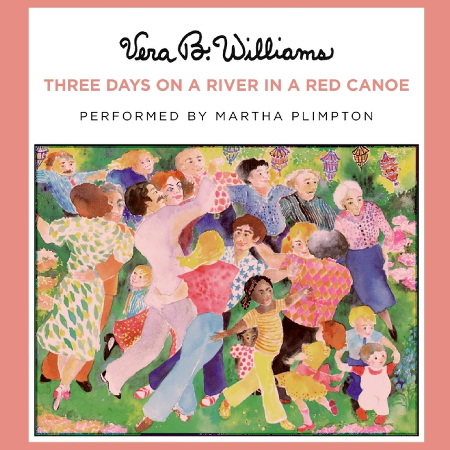 Printable Three Days on a River in a Red Canoe Audiobook Cover Art