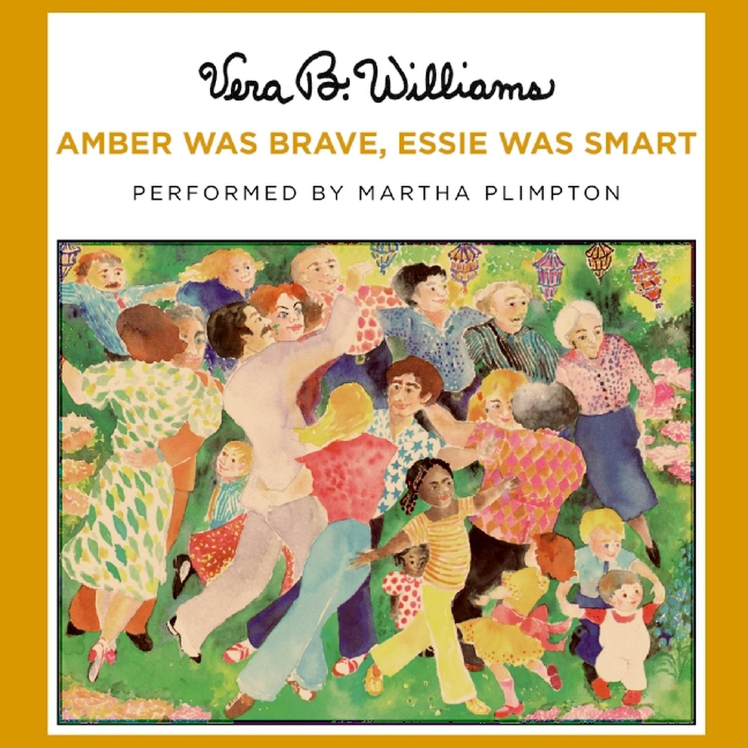 Printable Amber Was Brave, Essie Was Smart Audiobook Cover Art