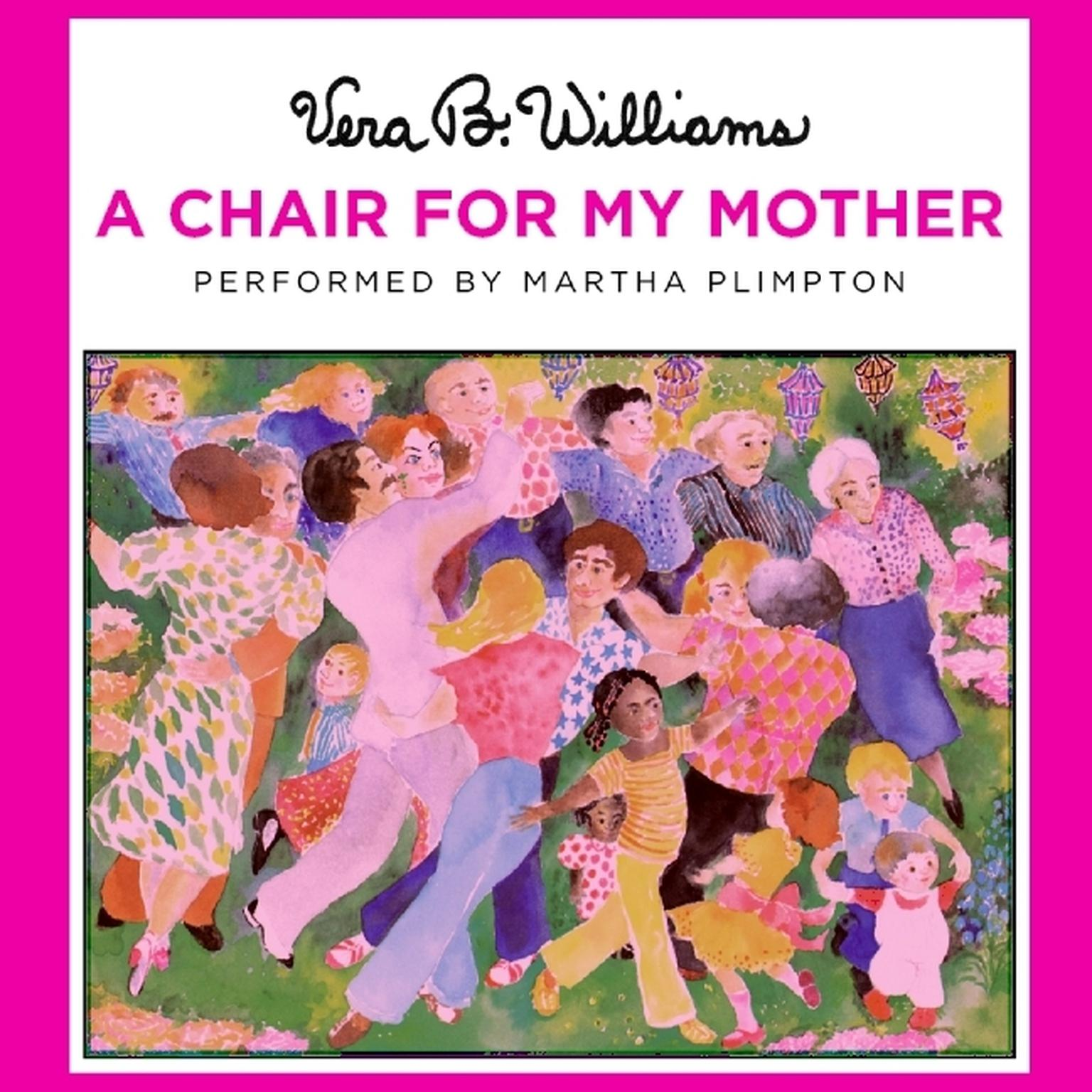Printable A Chair for My Mother Audiobook Cover Art
