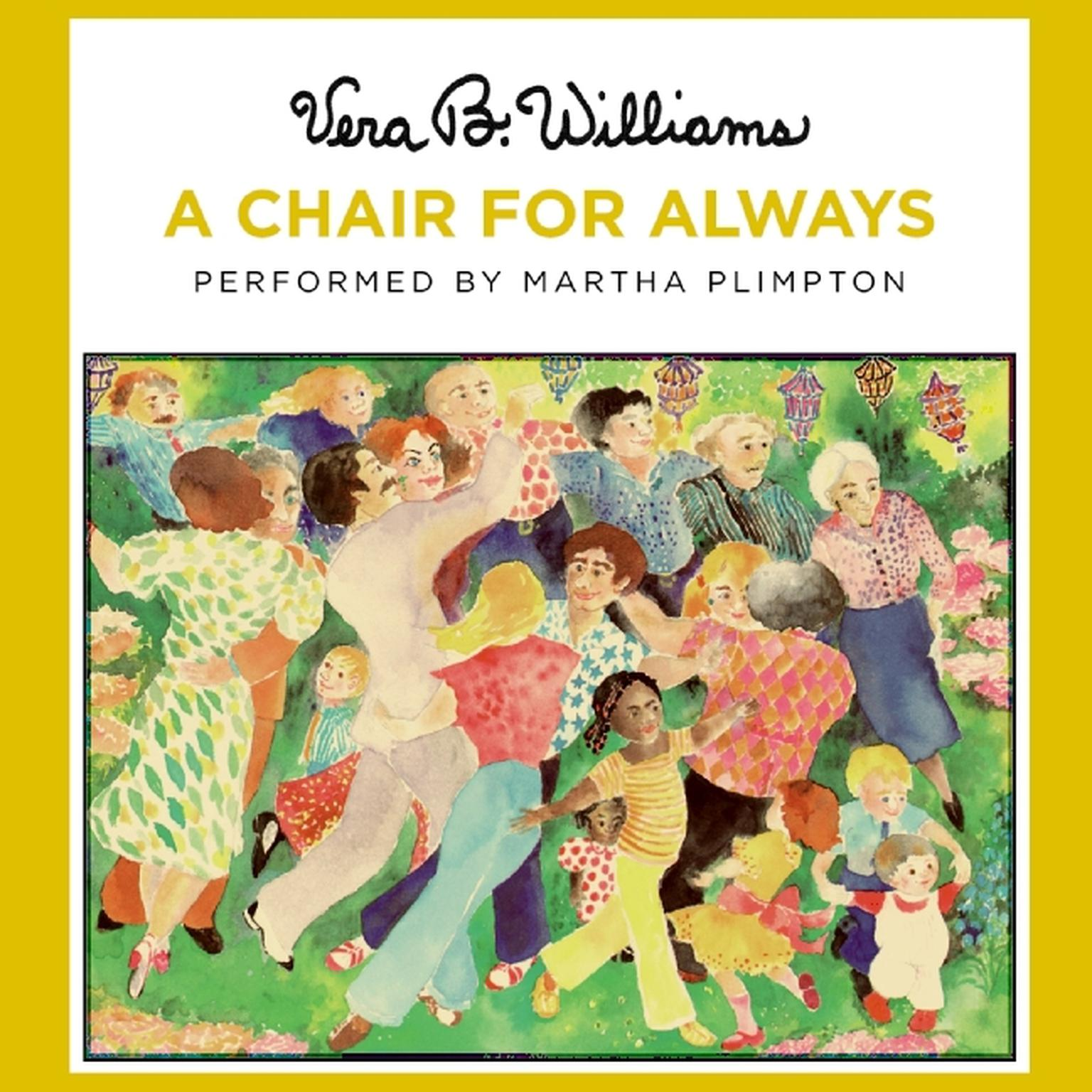 Printable A Chair For Always Audiobook Cover Art