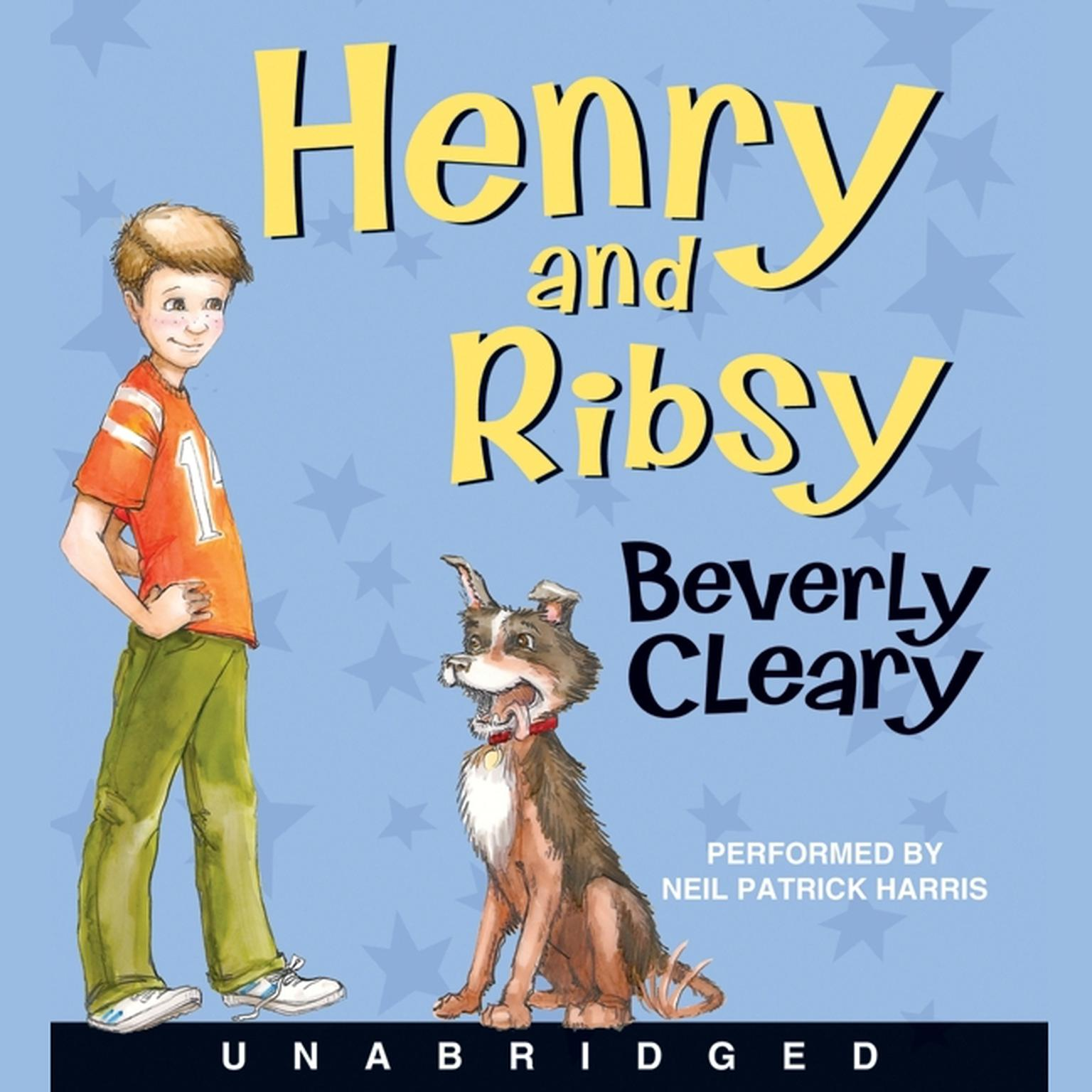 Printable Henry and Ribsy Audiobook Cover Art
