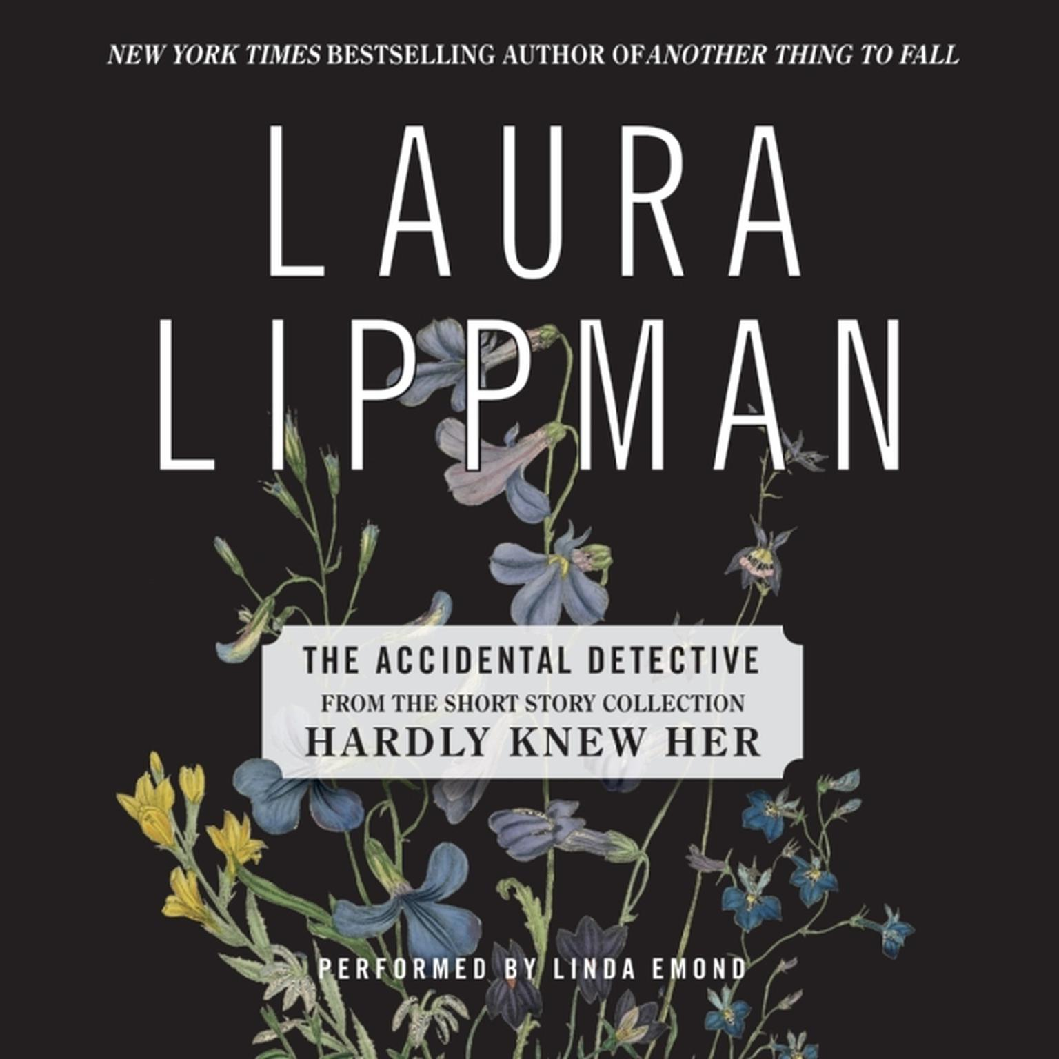Printable The Accidental Detective Audiobook Cover Art