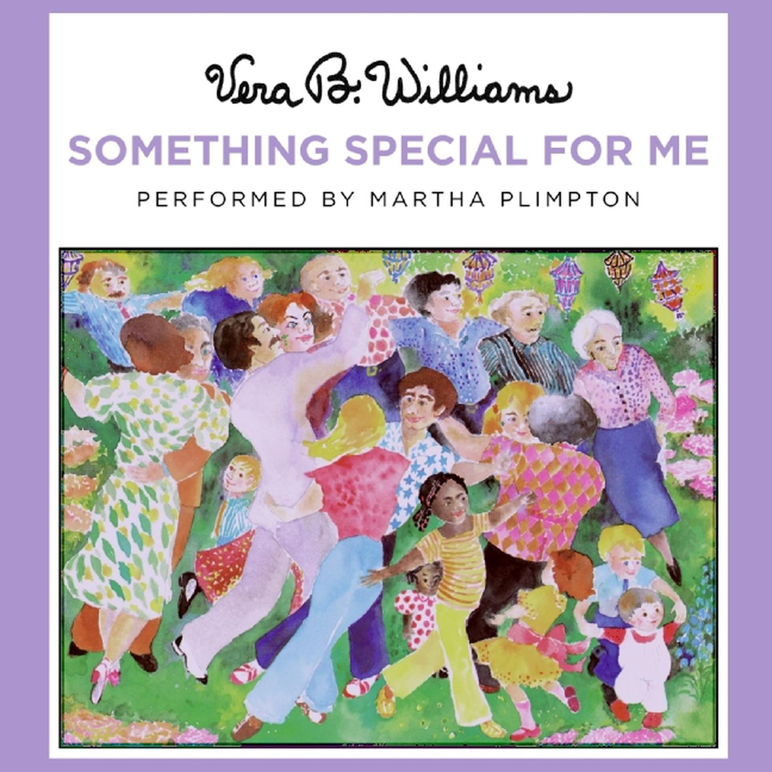Printable Something Special for Me Audiobook Cover Art