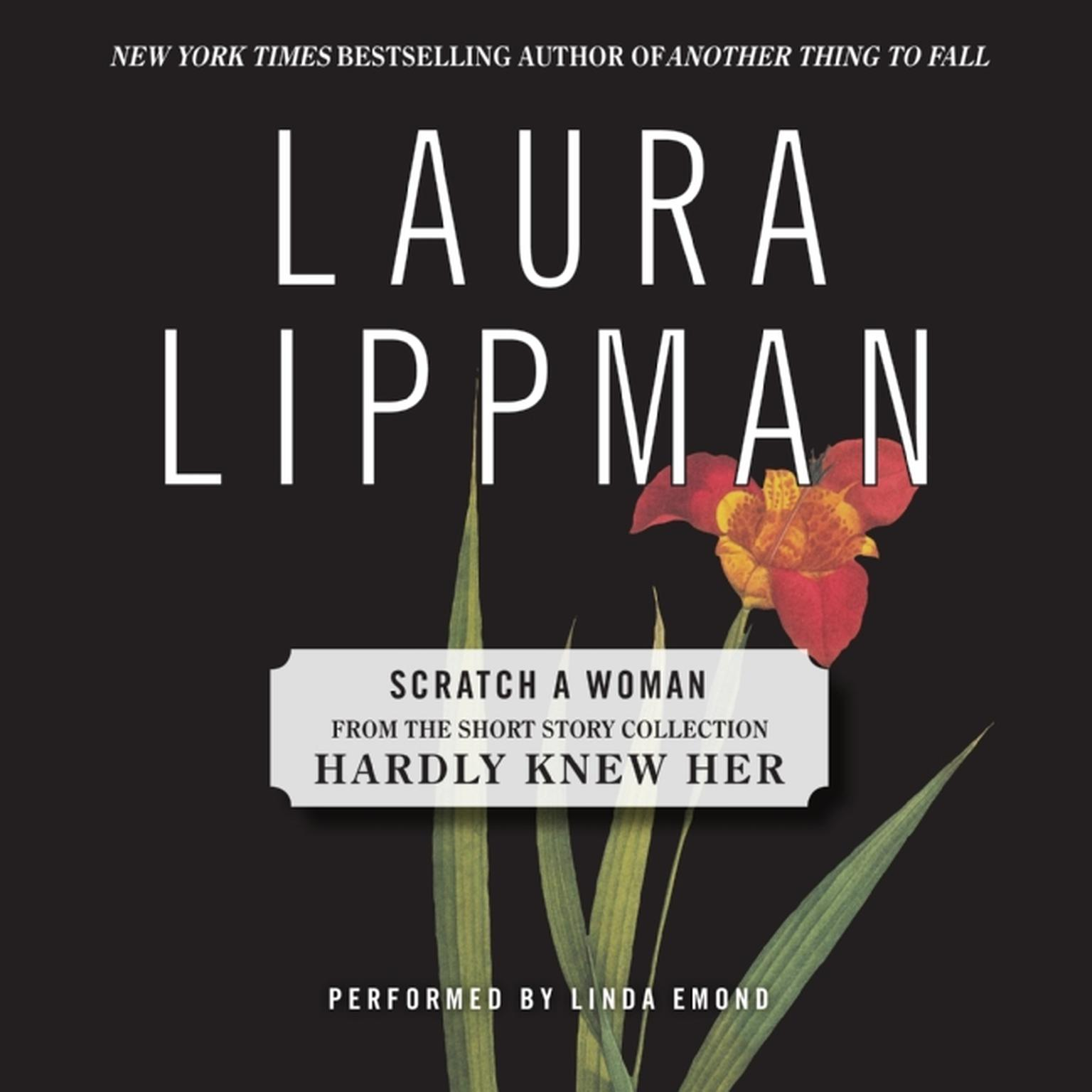 Printable Scratch a Woman Audiobook Cover Art