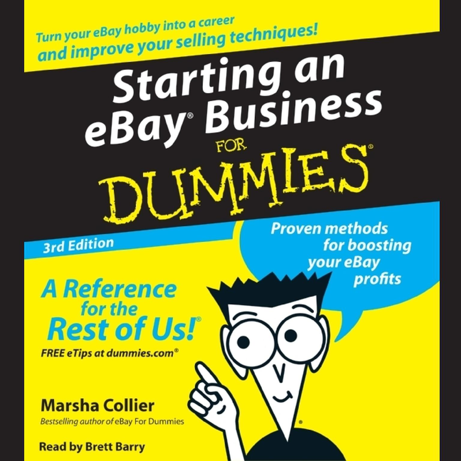 Printable Starting an E-Bay Business for Dummies Audiobook Cover Art