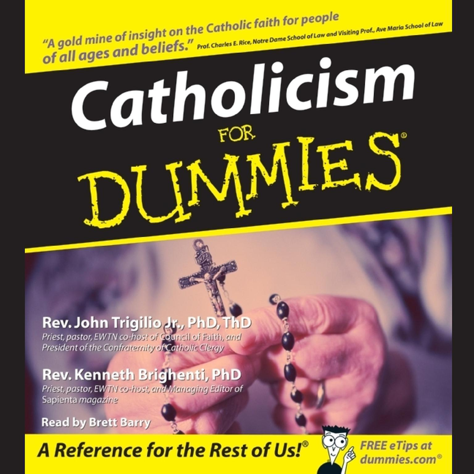 Printable Catholicism for Dummies Audiobook Cover Art