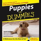 Puppies For Dummies Audiobook, by Sarah Hodgson