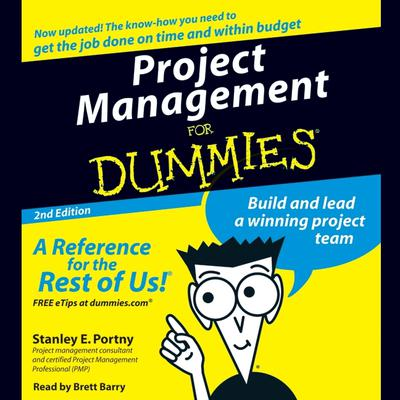 Project Management For Dummies Audiobook, by Stanley Portny