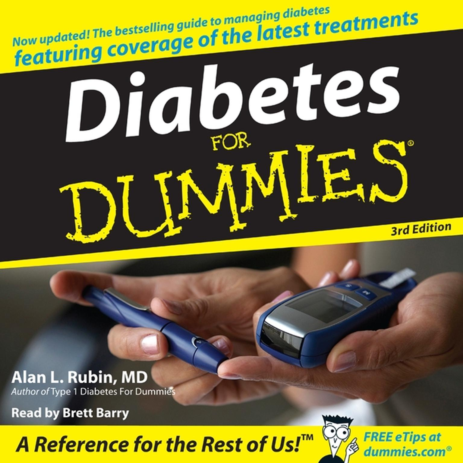 Printable Diabetes For Dummies 3rd Edition Audiobook Cover Art
