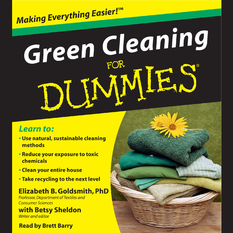 Printable Green Cleaning for Dummies Audiobook Cover Art