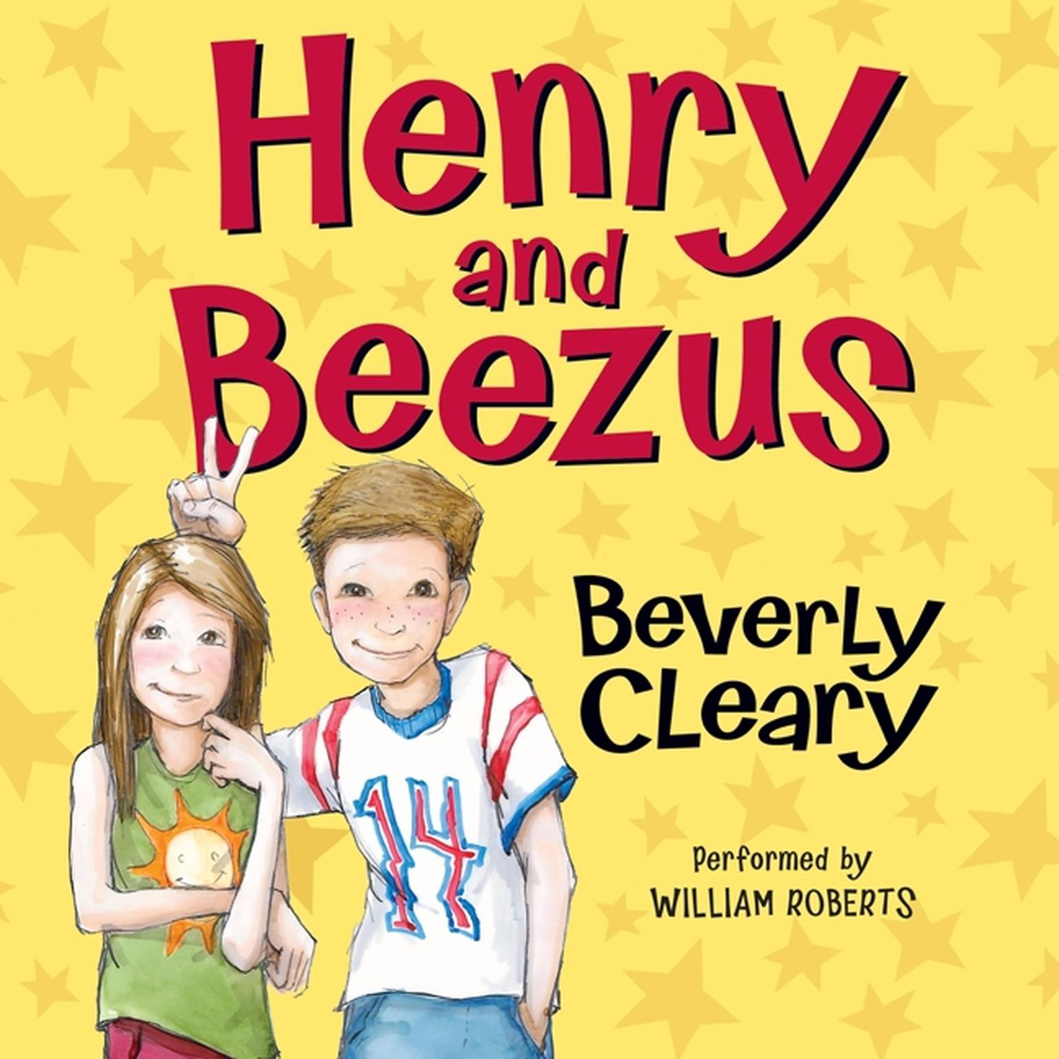 Printable Henry and Beezus Audiobook Cover Art