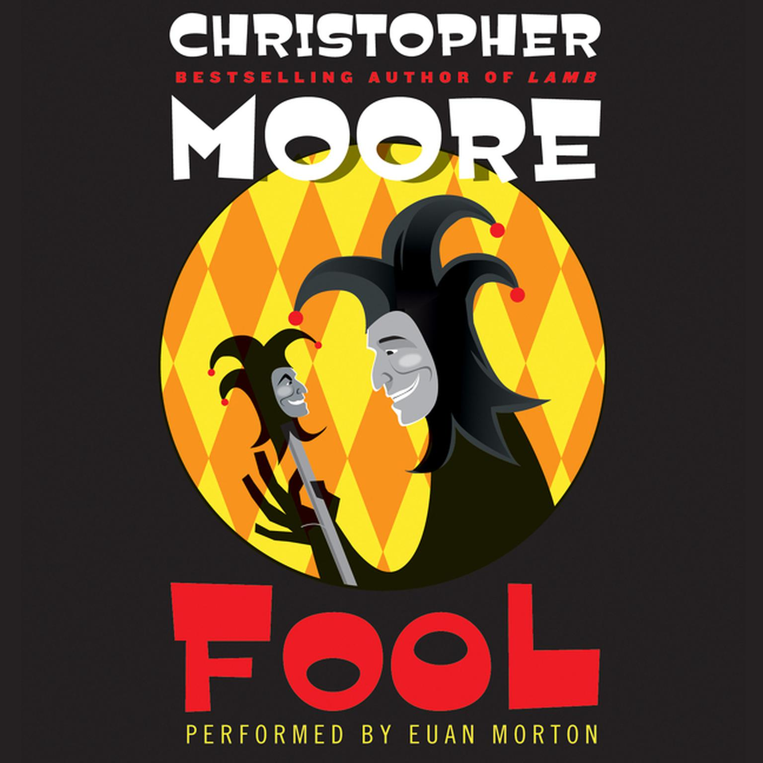 Printable Fool: A Novel Audiobook Cover Art