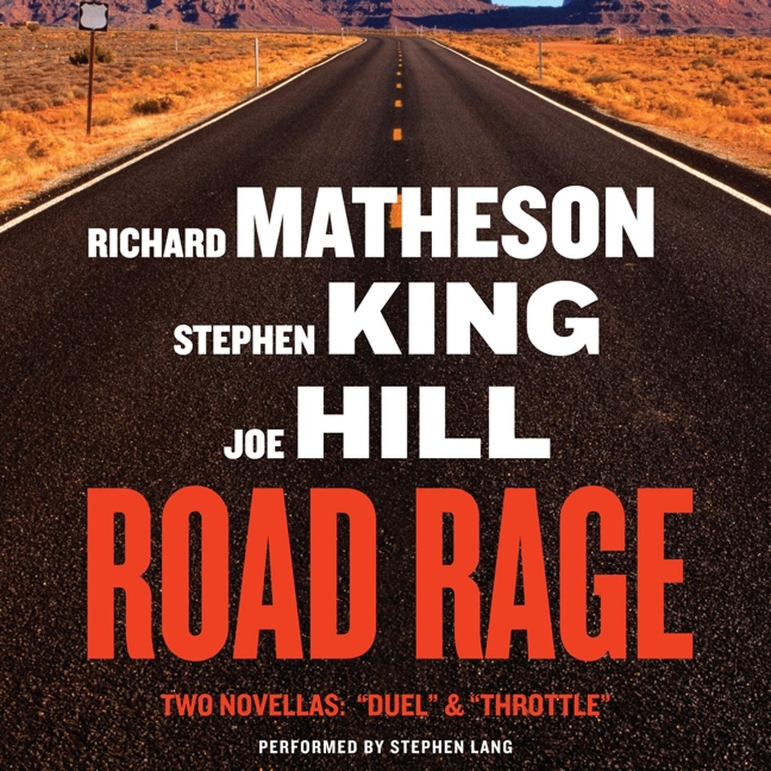 Printable Road Rage: Includes 'Duel' and 'Throttle' Audiobook Cover Art