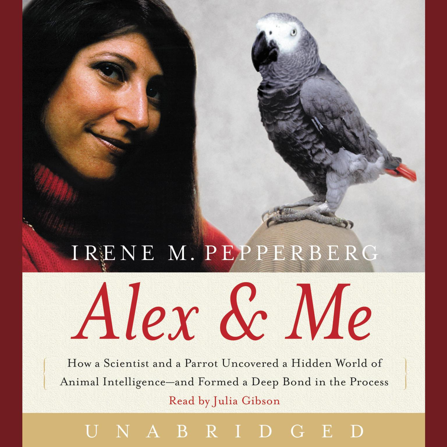 Printable Alex & Me Audiobook Cover Art