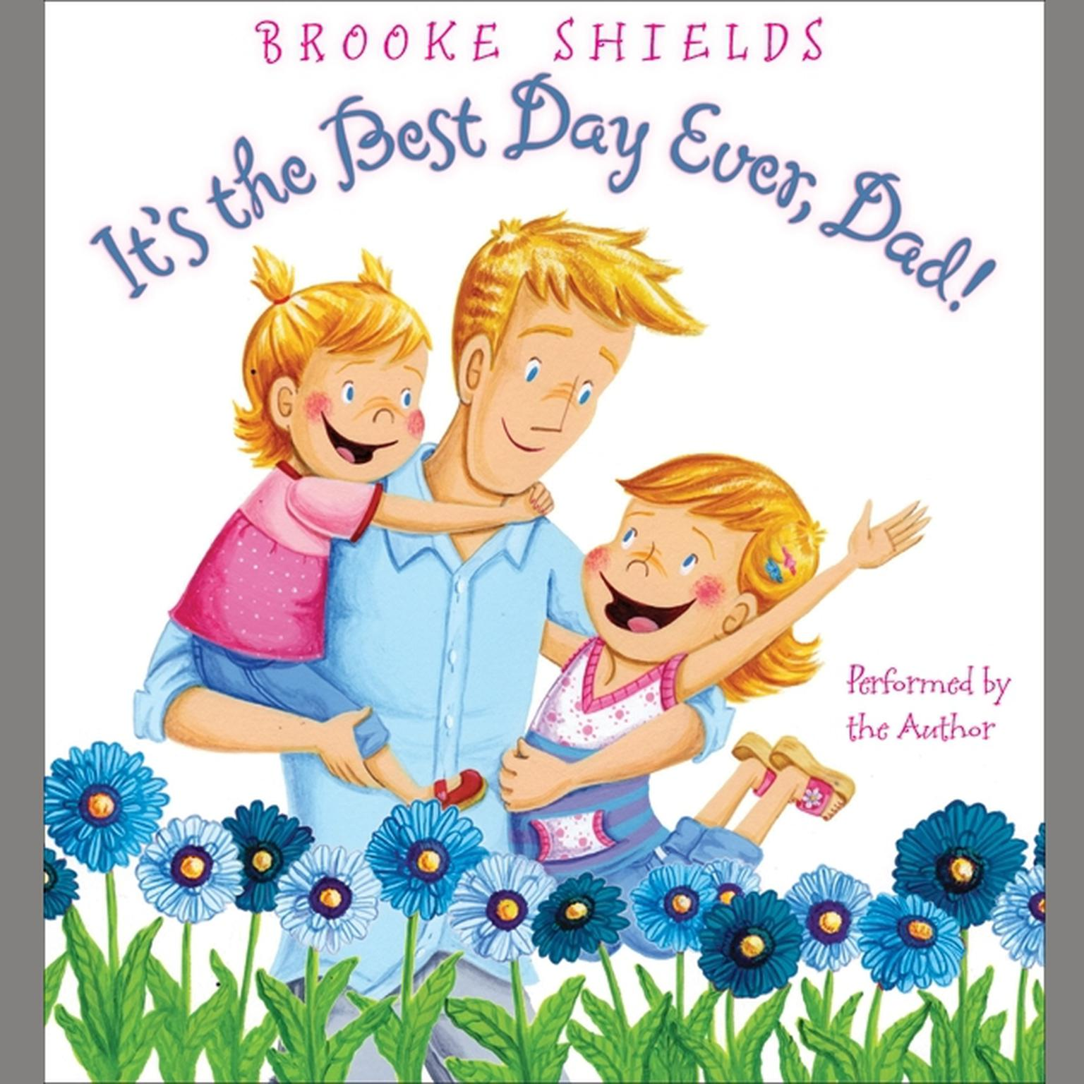 Printable It's the Best Day Ever, Dad! Audiobook Cover Art