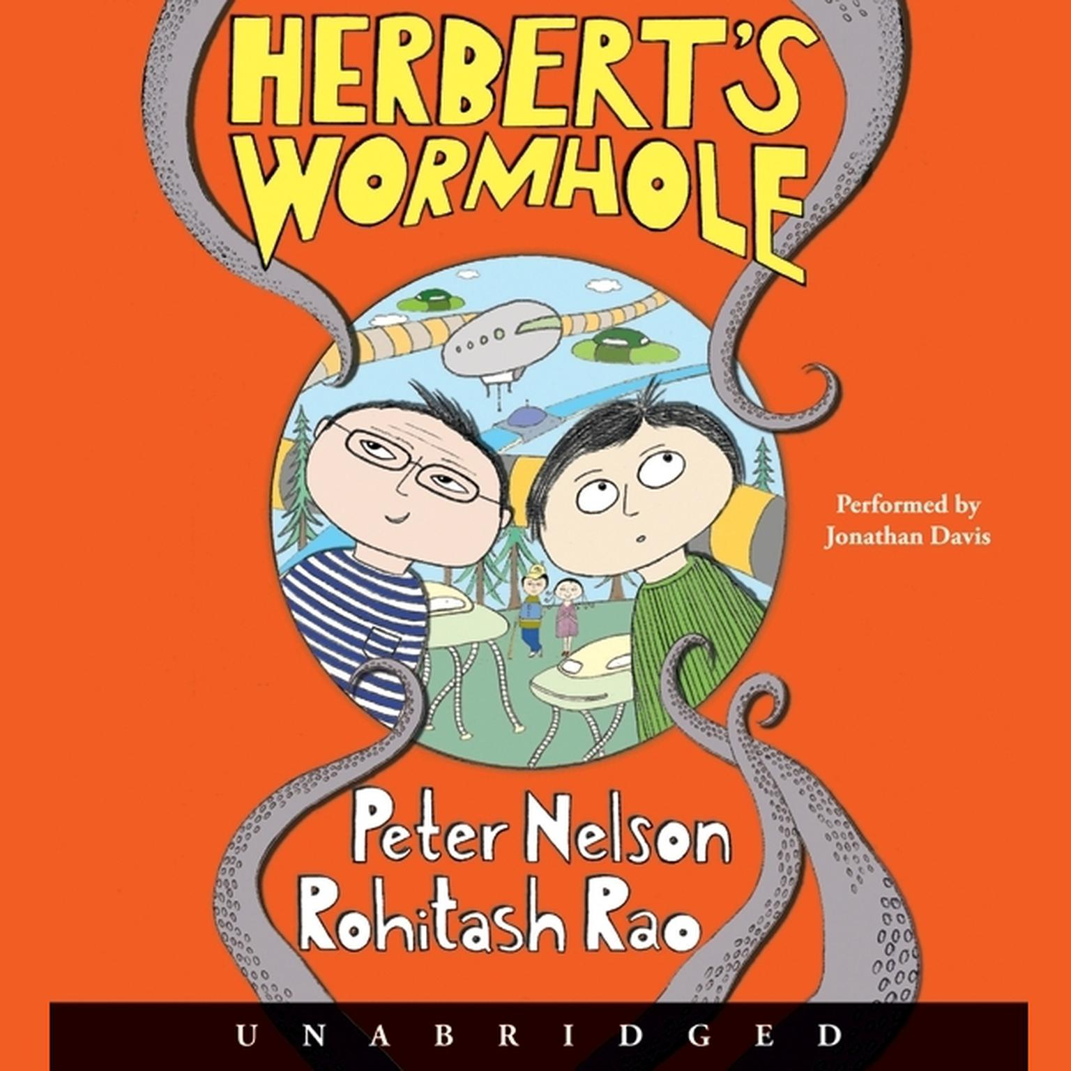 Printable Herbert's Wormhole Audiobook Cover Art